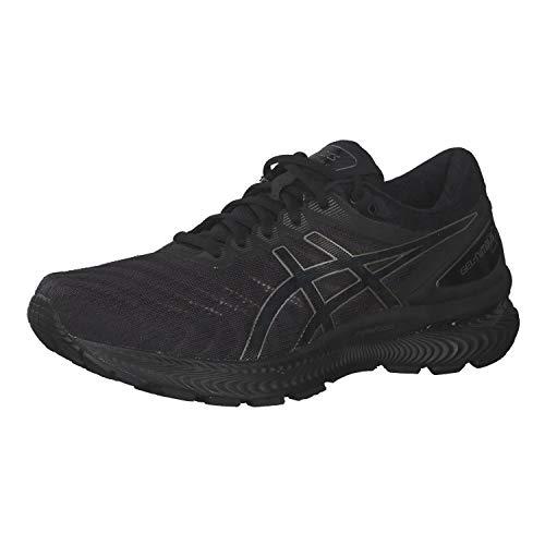 Asics Gel-Nimbus 22, Running Shoe Hombre, Negro, 42 EU