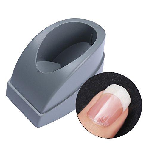 Molde contenedor de manicura francesa Born Pretty para sumergir la punta de las uñas, tiras de guía de plástico para líneas de sonrisa