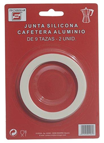 Distribuidora Ersa 9TZ Junta Cafetera, Silicona, Blanco, 16,5 x 11,5 x 1 cm