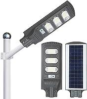 Lámpara Led Solar 90w Luminaria Suburbana Alumbrado Publico