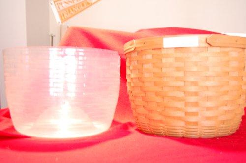 Longaberger J.W. Collection MINIATURE 2002 Edition Corn Basket Set
