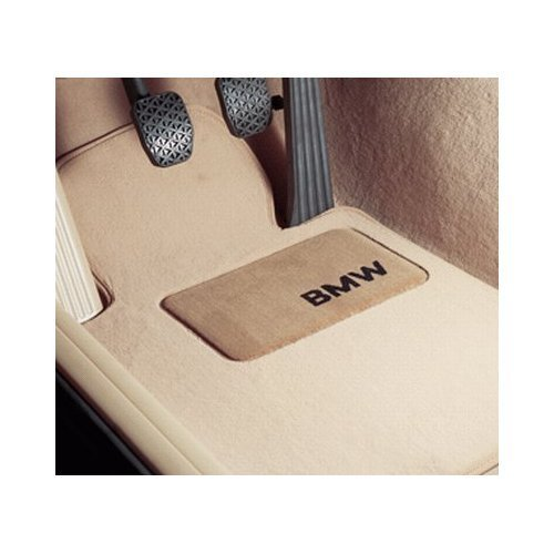 """BMW Genuine Beige Floor Mats for E91 - 3 SERIES ALL MODELS TOURING (2005 - 2007), set of Four"""