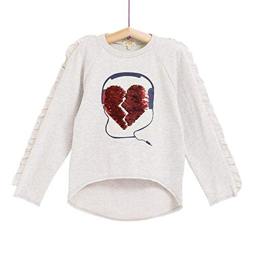 Camiseta de Manga Larga con Lentejuelas Reversibles para Niña (5-6 años)