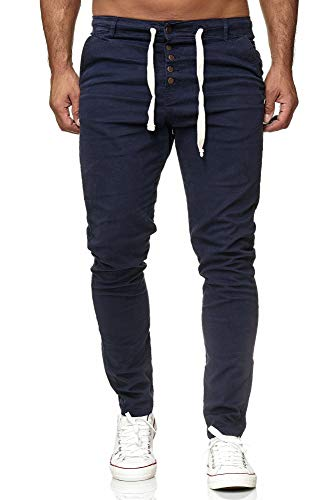 Tazzio Cargo Chino Regular Fit Jogger Cargo harrem chino jeans broek 18529