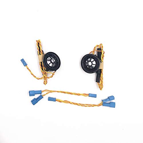 Bocina Coche Coche Puerta delantera Tweeter Fit Uso para BMW F10 F15 F16 F30 G30 E90 E70 Serie E70 Música de Hi-Fi Música Estéreo Frecuencia Horn Horn Speaker Bocinas De Coche