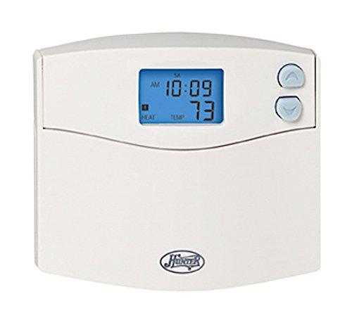 Hunter 44260 Set & Save 5+2 Programmable Thermostat, White