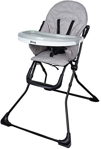 Ding Nemo Grijs Kinderstoel met Eetblad