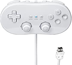 Beastron Classic Controller for Nintendo Wii, White (1 Pack)