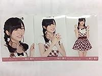 HKT48 坂口理子 写真 月別 ランダム 2014.June 3枚コンプH1205