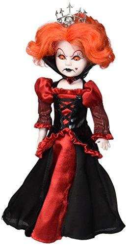 Mezco Toyz Living Dead Dolls Alice In Wonderland Figure Inferno as Queen of Hearts