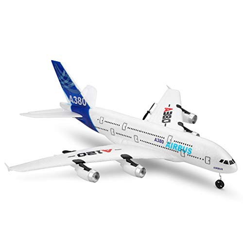 Wotryit WLTOYS A120-A380 2.4GHz 510mm Wingspan 3CH RC Airplane Fixed Wing RTF,Easy to Control, Steady Flight, Suit for Beginner.