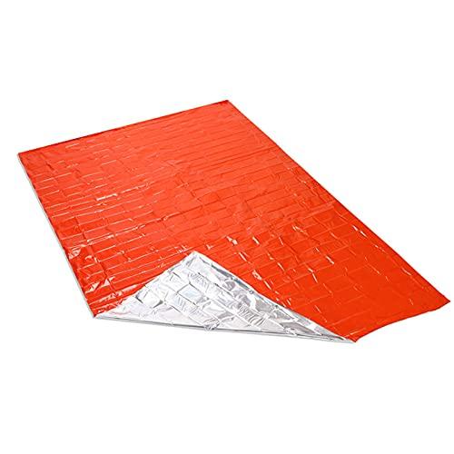 Mantas térmicas de Mylar para emergencias seguras, manta ai