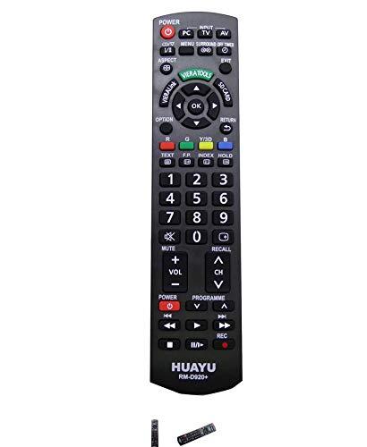 Panasonic mando a distancia de repuesto para televisor Universal, PC, TV, AV, Rec Viera rm-d920 +: Amazon.es: Electrónica