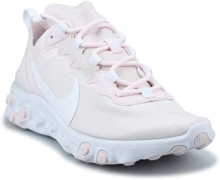 Nike W React Element 55, Chaussures d'Athlétisme Femme : Amazon.fr ...