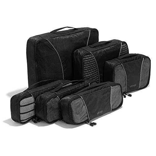 eBags Packing Cubes for Travel - 6pc Value Set