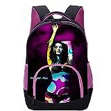 KKASD Affiche Megan Fox sac à dos imprimé en 3D Garçon/fille/adulte/adolescent/étudiant sac d'école mode sac à dos 45x30x15cm Sac à dos pour enfants