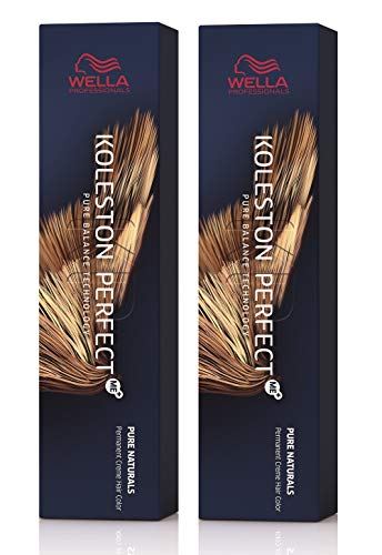 Wella 2 er Pack Koleston Perfect Me+ KP PURE NATURALS 10/0 hell-lichtblond