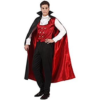 Atosa-96667 Disfraz Vampiro Rojo, color negro, XL (96667): Amazon ...