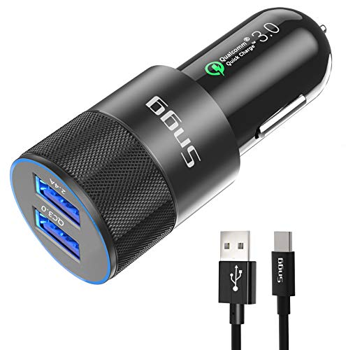 USB Type C Car Charger,Sngg USB C Car Charger Compatible...