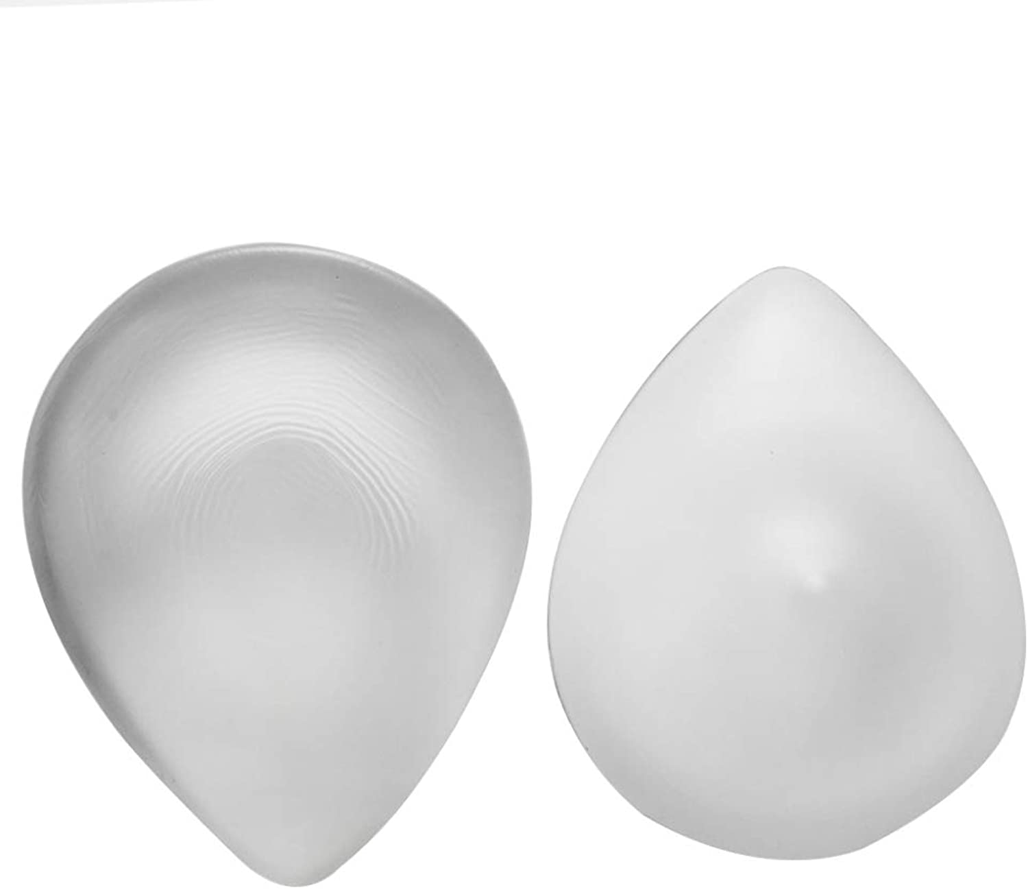 Fake Breast Medical Silicone Breast Prosthesis Fake Chest Full Boob 1 Only Water Drop Shape Transparent Breast,Transparentcolor2XL1.3Lb A