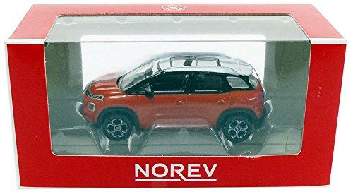 Norev – Miniatur Auto Citroen C3 aicross 2017 Maßstab 1/64, 310807, Orange/weiß