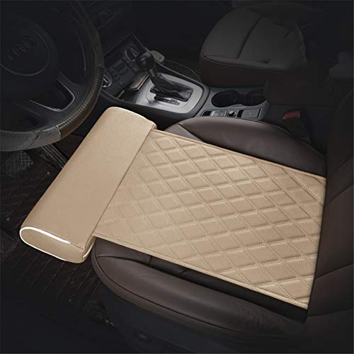 GPFDM Car Seat Thigh Support Pillow,Seat Cushion Foot Support Leg Knee Joint Memory Foam Thigh Cushion Support Car Interior Accessories for Long-Distance Driving,A