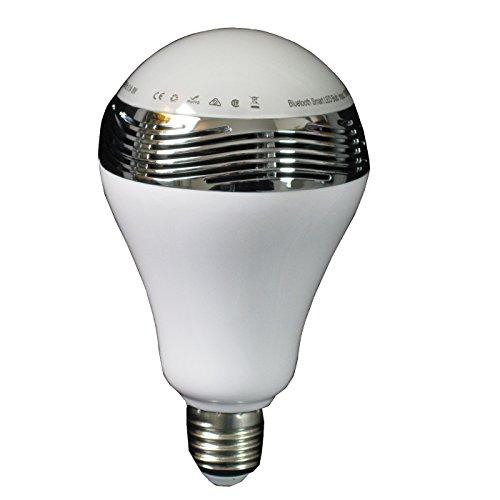 Glühbirne E27 Magic Colours mit Lautsprecher LED-Lichteffekte Lichtorgel Dimmbar