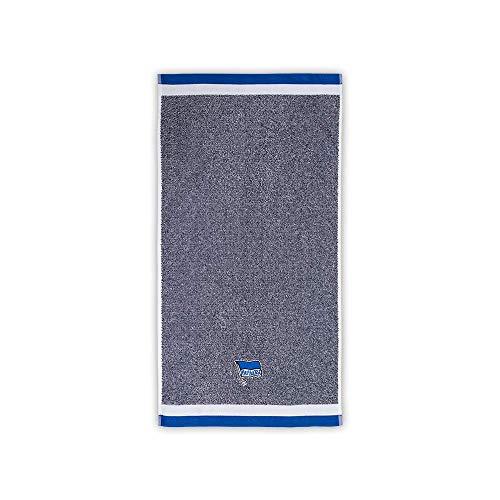 Hertha BSC Handtuch blau Melange