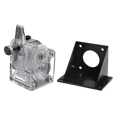 Aibecy Upgrade Extruder-Set Doppelantriebsextruder Getriebemotorhalterung Hohe Leistung für 3D Printer CR10 MK8 3D Drucker Toolkit