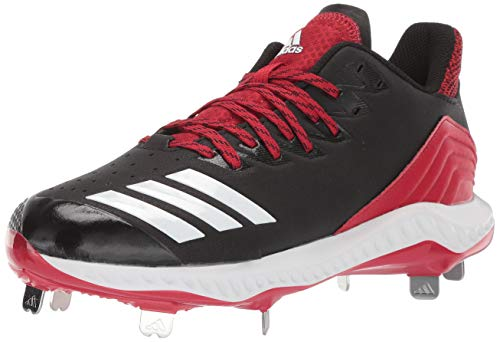 adidas Men's Icon Bounce, Black/White/Power red, 11 M US