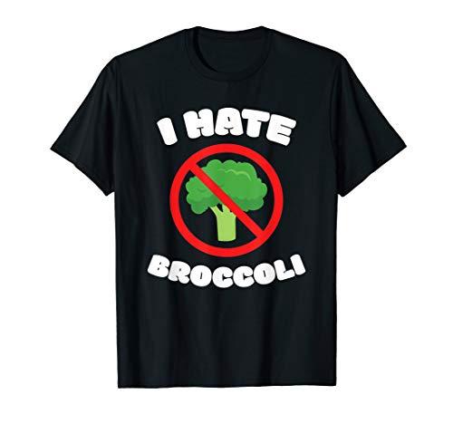 Ich Hasse Brokkoli I Grill Gemüse Fleisch Diät Vegan Lustig T-Shirt