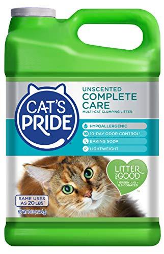 Cat's Pride Unscented Complete Care Hypoallergenic Multi-Cat Litter (C47710)