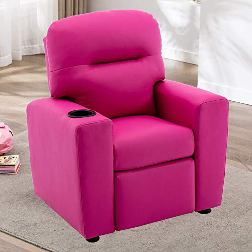 ERGOREAL Kids Recliner Chairs Children Sofa Manual Recliners...