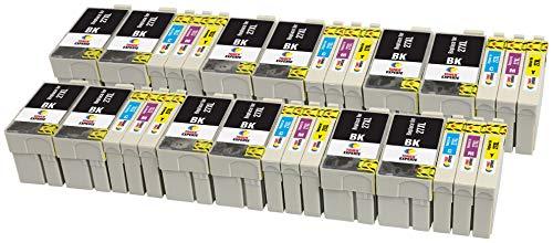 27XL 27 XL TONER EXPERTE 30 Cartuchos de Tinta compatibles con Epson Workforce...