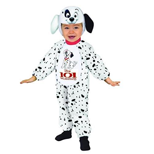 Ciao 11246.18-24 - Disney Costume Baby Dalmata 101, Bianco, 18-24 mesi