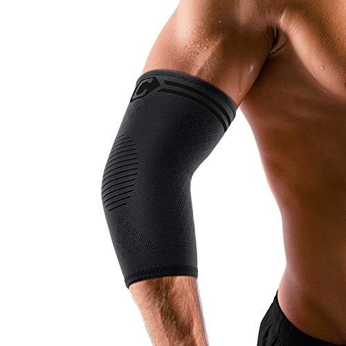 CAMBIVO 2 x Ellenbogenbandage, Gelenkschoner für Damen und Herren, Arm Ellenbogen Bandage, Kompression Support für Sehnenscheidenentzündung, Golferarm und Tennisarm