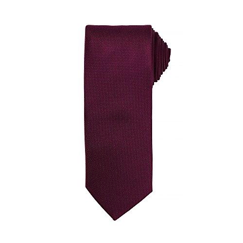 Premier - Corbata formal para hombre (Paquete de 2) (Talla Única) (Berenjena)