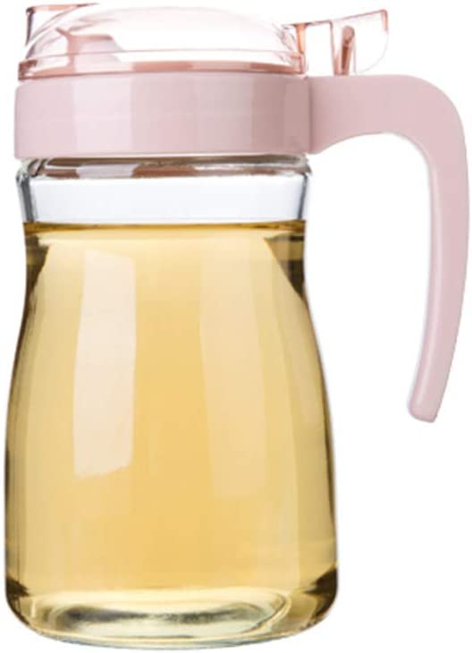 N A 580ml Glass Oil Bottle Press The Operate Switch Easy to Selling rankings Free Shipping New