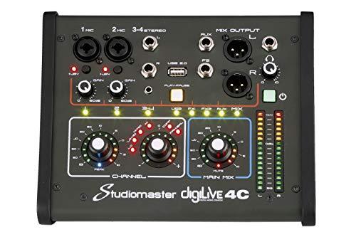 Studiomaster digiLivE 16 Mezclador Digital Consola de mezclado Escritorio Motorizado Faders