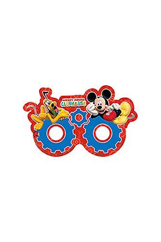 Unique Party Disney Mickey Mouse Clubhouse - Maschera per feste, Confezione da 6 pezzi
