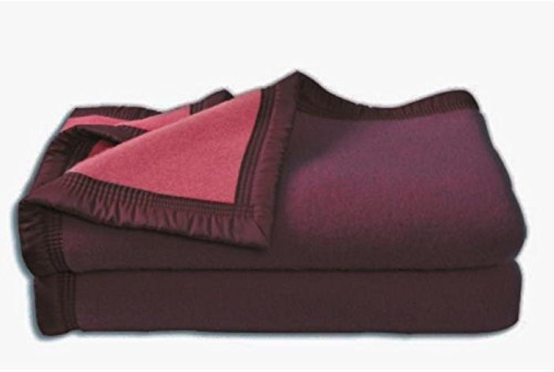 CouGrünure Aubisque en laine woolmark 180x220 cm aubergine et et et bois de Rosa B016ZI0NLQ | Qualität  09b46d