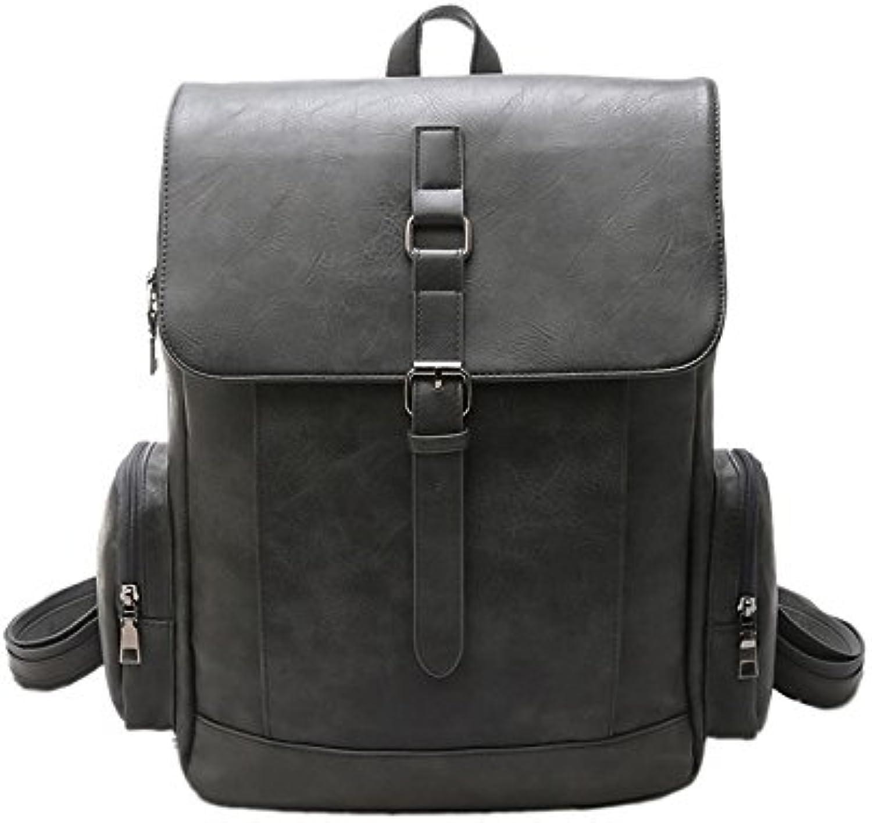 Lmopop Rucksack Freizeit Tasche Traveler's, grau B07DW5R27S  Reichhaltiges Design