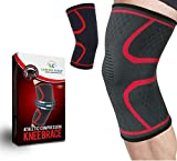 Lumino Cielo Athletic Compression Knee Brace for Joint Pain Relief, Arthritis, Injury Recovery