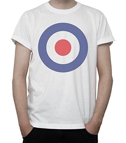 DreamGirl RAF Roundel Mod Vespa Symbol Mens T-Shirt