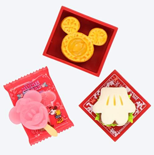 ディズニー パークフード 箸置きセット 東京ディズニーリゾート TDR はしおき チキンパオ・ミニーアイスバー・ミッキーデニッシュパン