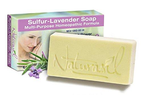 Sulfur-Lavender Soap by Naturasil 4 oz