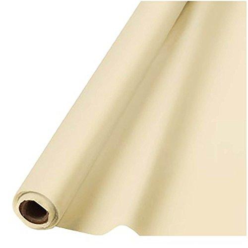 amscan Creme Plastic Tafel 1m x 30.5m-1 Roll