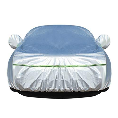 N&A wasserdichte Autoabdeckung Kompatibel mit Hyundai Die ganze Größe (Color : Silver, Size : Sonata Hybrid)