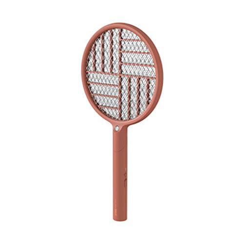 Tapette à moustiques Tapette à moustique électrique pliante choc électrique filet de sécurité à trois couches tapette à moustique électrique tapette à main USB rechargeable (475 mm * 240 mm * 35 mm)