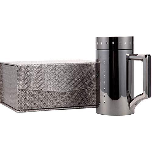 LDATOU 460 ml Edelstahl-Isolierflaschen Wasser Tee Kaffeetasse Büro Isolierbecher Werbegeschenk Tasse Trinkgefäße Thermosflasche